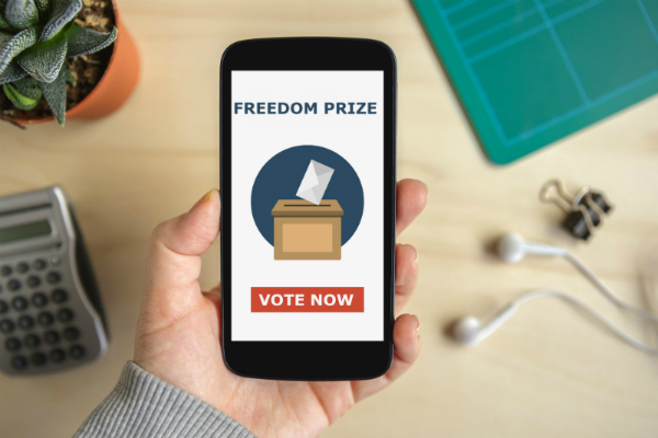 Vote for the Freedom Prize