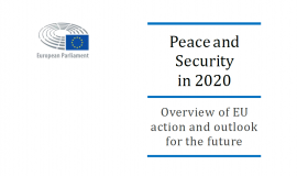 Peace and Security in 2020: Overview of EU action and outlook for the future